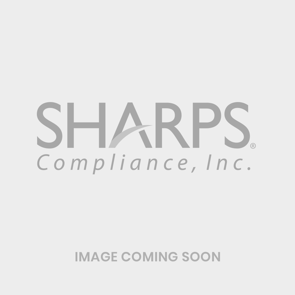 5-Quart SharpStar In-Room Sharps Containers (Transparent Red)